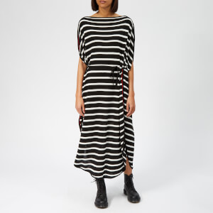 MM6 Maison Margiela Women's Stripe Dress - Black