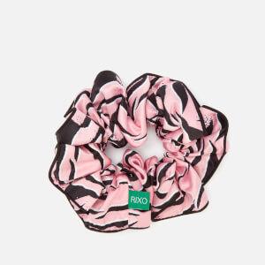 RIXO Women's Jasper Scrunchy - Pink Tiger