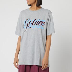 Golden Goose Deluxe Brand Women's Melita T-Shirt - Melgrey/Golden Entwine