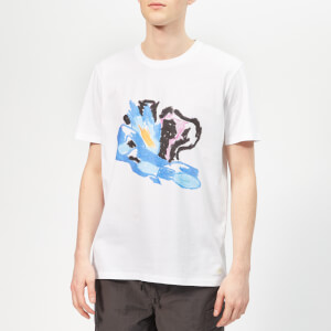 Folk Men's Flare T-Shirt - White
