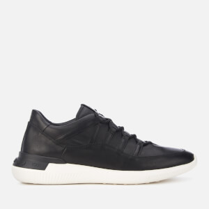 Tod's Men's Leather Runner Style Trainers - Black