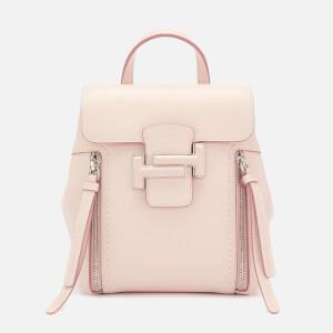 Tod's Women's Doppia T Mini Backpack - Beige