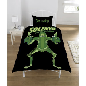 Rick & Morty Pickle Rick Duvet Set