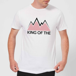 Summit Finish King Of The Mountains Men's T-Shirt - White
