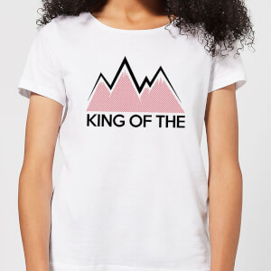 Summit Finish King Of The Mountains Women's T-Shirt - White