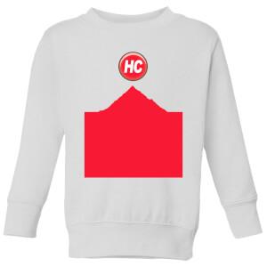 Summit Finish Hors Categorie Kids' Sweatshirt - White