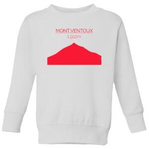 Summit Finish Mont Ventoux Kids' Sweatshirt - White
