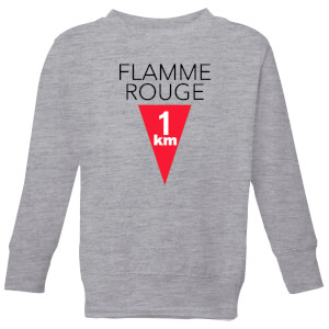 Summit Finish Flamme Rouge Kids' Sweatshirt - Grey