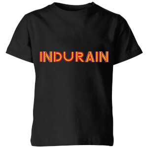 Summit Finish Indurain - Rider Name Kids' T-Shirt - Black