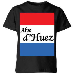 Summit Finish Alpe D'Huez Kids' T-Shirt - Black