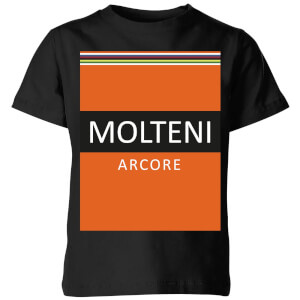 Summit Finish Molteni Kids' T-Shirt - Black