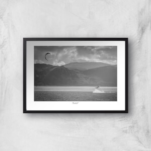 Thunderbolt Photography Gogarth Kite Surfer Art Print