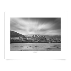 Thunderbolt Photography Conwy Castle Art Print