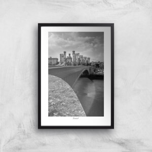 Thunderbolt Photography Conwy Castle Bridge Art Print