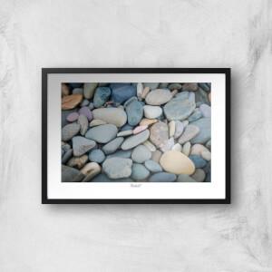 Thunderbolt Photography Talacre Pebbles Art Print