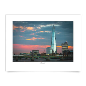 Thunderbolt Photography The Shard, London Art Print