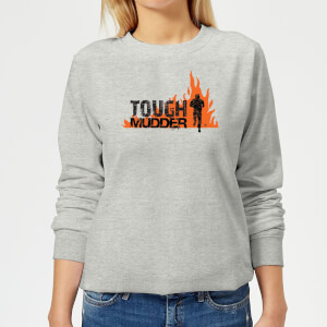 Tough Mudder Logo Women's Sweatshirt - Grey
