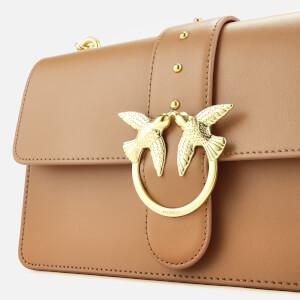 Pinko Women's Love Simply Shoulder Bag - Tan: Image 4