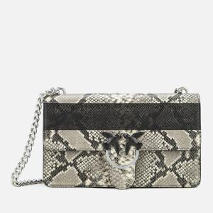 Pinko Women's Love Python Shoulder Bag - Python