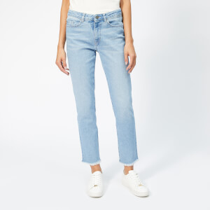 BOSS Women's J30 Lucia Jeans - Turquoise