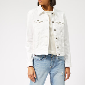 BOSS Women's J90 Ghent Denim Jacket - White