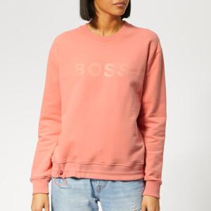BOSS Women's Talastic Sweatshirt - Orange