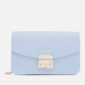 Furla Women's Metropolis Small Shoulder Bag - Blue