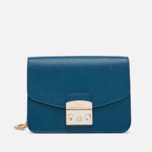 Furla Women's Metropolis Small Cross Body Bag - Blue