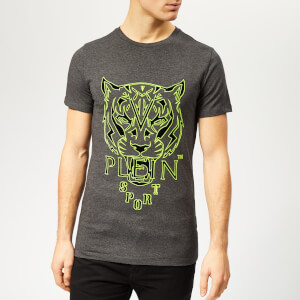 Plein Sport Men's Tiger T-Shirt - Grey
