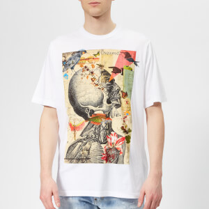 Dsquared2 Men's Slouch Fit Printed T-Shirt - White