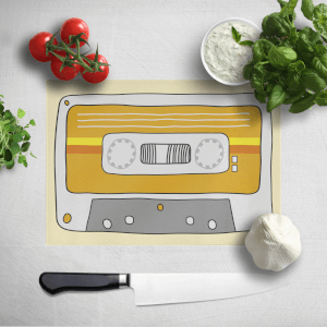 Retro Chopping Board Cassette Tape Chopping Board