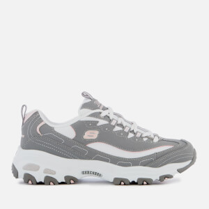 Skechers Women's D'Lites Biggest Fan Trainers - Grey