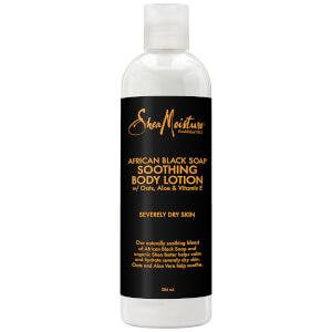 Shea Moisture African Black Soap Soothing Body Lotion -vartalovoide 384ml