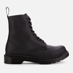 Dr. Martens Women's 1460 Pascal Virginia Leather 8-Eye Boots - Black Mono