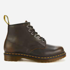 Dr. Martens Men's 101 Vintage Leather 6-Eye Boots - Butterscotch