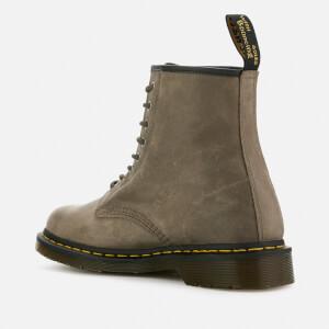 Dr. Martens Men's 1460 Dusky Leather 8-Eye Boots - Olive: Image 3
