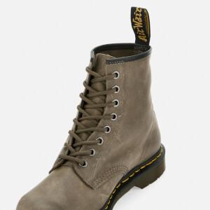 Dr. Martens Men's 1460 Dusky Leather 8-Eye Boots - Olive: Image 4