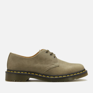 Dr. Martens Men's 1461 Dusky Leather 3-Eye Shoes - Olive