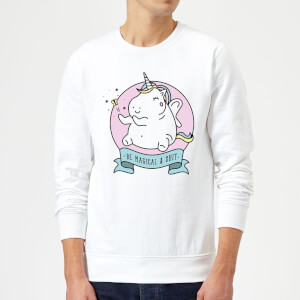Be Magical & S*** Sweatshirt - White