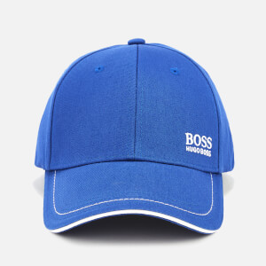 BOSS Men's Embroidered Logo Cap - Blue