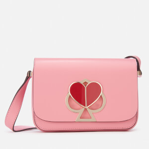 Kate Spade New York Women's Nicola Turnlock Flap Shoulder Bag - Rococco Pink