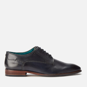 Ted Baker Men's Parals Leather Derby Shoes - Dark Blue
