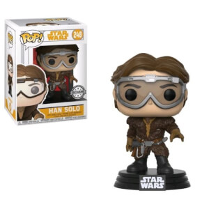 Star Wars Solo Han Solo with Goggles EXC Pop! Vinyl Figure
