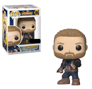 Marvel Avengers: Infinity War Captain America with Shield EXC Pop! Vinyl Figure
