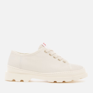 Camper Women's Brutus Canvas Shoes - Light Beige