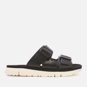 Camper Women's Oruga Double Strap Sandals - Black
