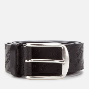 Emporio Armani Men's Smart Leather Belt - Nero