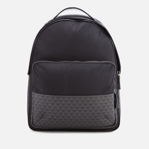 Emporio Armani Men s Backpack - Navy Black 71e24d0ce4e7f
