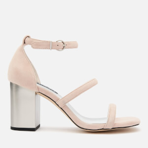 Senso Women's Robbie V Suede Block Heeled Sandals - Blush