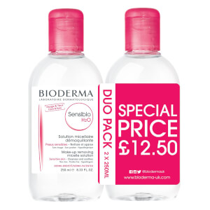 Bioderma Sensibio H2O Duo Pack 250ml